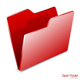 Vector.Open Folder icon isolated. EPS included Stock Photos