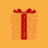 Vector open gift box illustration. Stock Photo