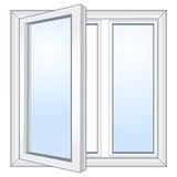 Vector Open Window Stock Images