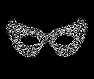 Vector  openwork masquerade mask Royalty Free Stock Image