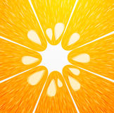 Vector orange background Royalty Free Stock Photos