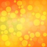 Vector orange bokeh background. Orange bokeh background. vector eps 10 Royalty Free Stock Photos