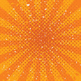 vector orange grunge background Stock Photography