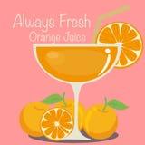 Vector Orange Juice. Vector EPS of Orange Juice Stock Illustration