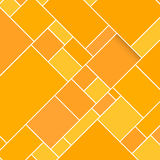 Vector Orange Rectangular Structured Background Stock Photo