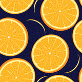Vector orange seamless texture Stock Photo