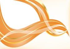 Vector oranje achtergrond Royalty-vrije Stock Afbeeldingen