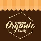 Vector orgánico superior del polígono de la panadería Fotos de archivo libres de regalías