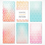 Vector oriental geometric patterns Stock Images