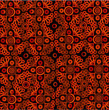 Vector oriental lace pattern Stock Images