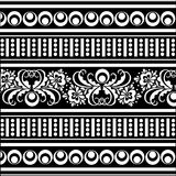 Vector oriental pattern Royalty Free Stock Photography