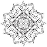 Vector oriental pattern. Stock Image