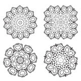 Vector oriental pattern. Royalty Free Stock Images