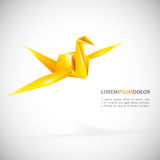 Vector origami Royalty Free Stock Images