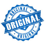 Vector original stamp Royalty Free Stock Image