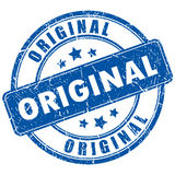 Vector original stamp Stock Image