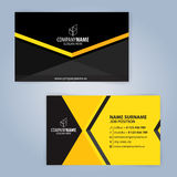 Vector originele klaar voor beste af:drukken Geel en zwart Stock Foto's