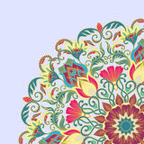 Vector ornament. Vector illustration with floral ornament for print Stock Photo