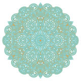 Vector ornament. Vector illustration with floral ornament for print Royalty Free Stock Image