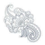 Vector ornament. Vector illustration with vintage pattern for print, embroidery Royalty Free Stock Images