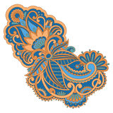 Vector ornament. Vector illustration with vintage pattern for print, embroidery Royalty Free Stock Image