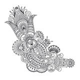 Vector ornament. Vector illustration with vintage pattern for print, embroidery Stock Image