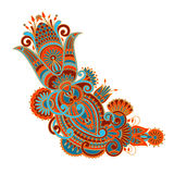 Vector ornament. Vector illustration with vintage pattern for print, embroidery Stock Images