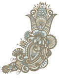 Vector ornament. Vector illustration with vintage pattern for print, embroidery Royalty Free Stock Photos