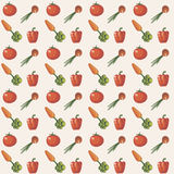 Vector ornament carrot onion beets Stock Images