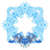 Vector ornament for coloring. Royalty Free Stock Photography