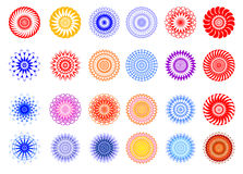 Vector ornament elements Royalty Free Stock Photography