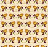 Vector ornament flower iris Royalty Free Stock Photo