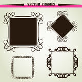 vector ornament frames Stock Photography