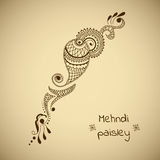 Vector ornament in indian style Stock Images