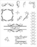 Vector ornament pattern Royalty Free Stock Image