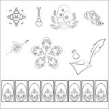 Vector ornament pattern Royalty Free Stock Photos