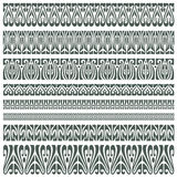 Vector ornament pattern in the art-nouveau style Stock Photos