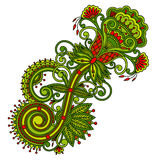 Vector ornament. Royalty Free Stock Photo