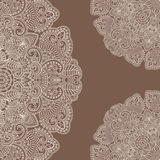 Vector ornamental background. Vector illustration with vintage pattern for print Stock Images