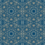 Vector ornamental background. Vector illustration with vintage pattern for print Royalty Free Stock Images
