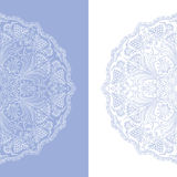 Vector ornamental background. Vector illustration with vintage pattern for print Royalty Free Stock Photography