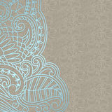 Vector ornamental background. Vector illustration with vintage pattern for print Stock Image