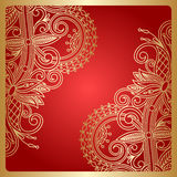 Vector ornamental background. Stock Image