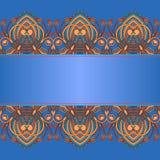 Vector ornamental background. Stock Photo