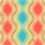 Vector Ornamental Background. Made with Colorful Rhombuses like a Skin Pattern. Vector EPS 10 Stock Photo
