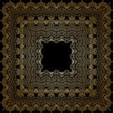 Vector ornamental background. Vector vintage pattern for print, embroidery (you can use this pattern for carpet, shawl, pillow, cushion Royalty Free Stock Photo