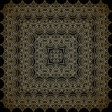 Vector ornamental background. Vector vintage pattern for print, embroidery (you can use this pattern for carpet, shawl, pillow, cushion Royalty Free Stock Photography