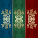 Vector Ornamental Backgrounds Royalty Free Stock Photography