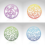 Vector Ornamental Circles Stock Photo
