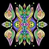 Vector ornamental del extracto de Colorfull Fotografía de archivo